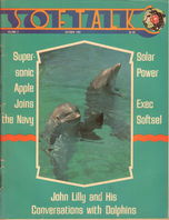 V2.02 Softalk Magazine cover, October 1981