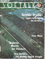 V2.06 Softalk Magazine cover, February 1982