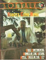 V3.12 Softalk Magazine cover, August 1983