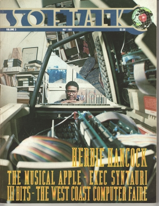 V3.09 Softalk Magazine cover, May 1983