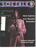 V1.03 Softalk Magazine cover, November 1980