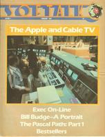 V1.06 Softalk Magazine cover, February 1981