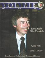 V1.10 Softalk Magazine cover, June 1981