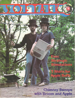 V1.11 Softalk Magazine cover, July 1981