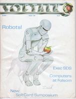 V1.12 Softalk Magazine cover, August 1981