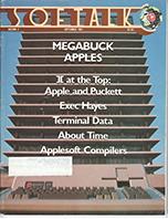 V2.01 Softalk Magazine cover, September 1981