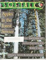 V2.03 Softalk Magazine cover, November 1981