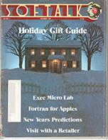 V2.04 Softalk Magazine cover, December 1981