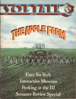 V2.12 Softalk Magazine cover, August 1982