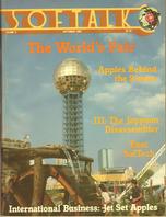 V3.01 Softalk Magazine cover, September 1982
