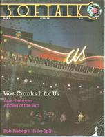 V3.02 Softalk Magazine cover, October 1982