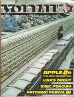V3.06 Softalk Magazine cover, February 1983