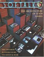 V3.11 Softalk Magazine cover, July 1983