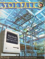 V4.06 Softalk Magazine cover, February 1984