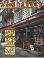 V4.09 Softalk Magazine cover, May 1984