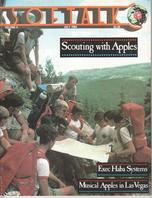 V4.11 Softalk Magazine cover, July 1984
